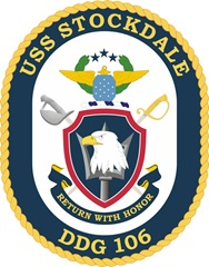 USS Stockdale Crest