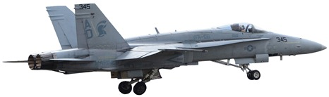 f-18 departing