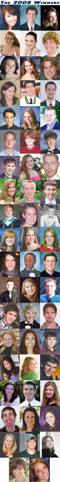 2008 scholarship winners