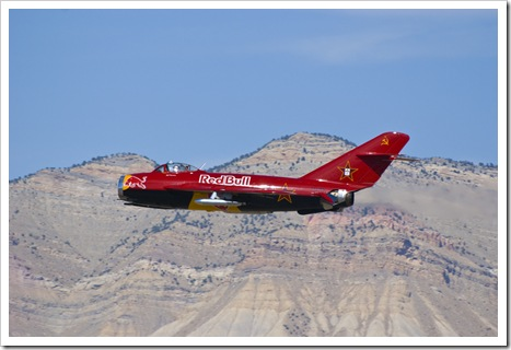 The Red Bull Mig 17 at Grand Junction