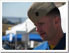 """Blue Angel Pilot of Fat Albert, Captain Brendan """"Cletus"""" Burks in Grand Junction Colorado"""