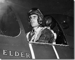 LCDR Robert M. Elder, XOof VF-5A on22 January 1948 sitting in a NNAA FJ-1 Fury at NAS San Diego, CA. USN Tailhook Association