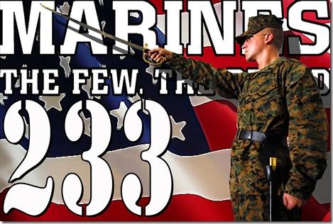 Marines bday 4