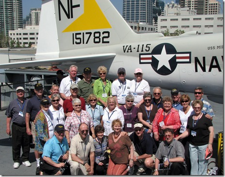 VA-115 Reunion on Midway
